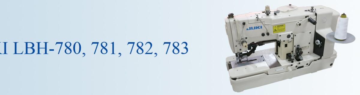 JUKI 780 781 782 783 button hole sewing machine used