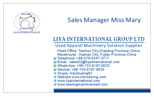 Miss Mary Business Card