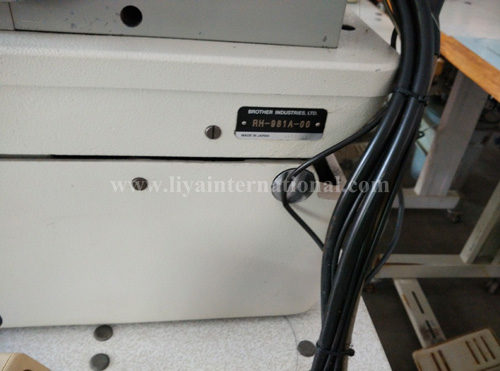 ELECTRONIC EYELET BUTTON HOLE BROTHER RH -981A-00 (2)