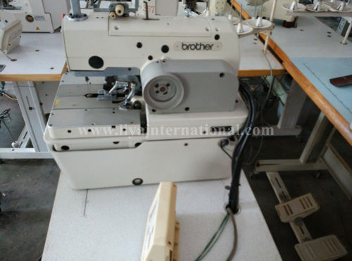 ELECTRONIC EYELET BUTTON HOLE BROTHER RH -981A-00