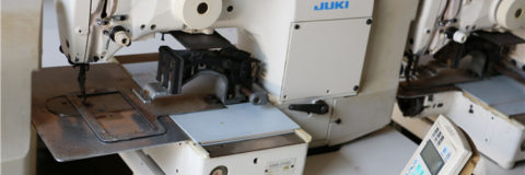 JUKI AMS 210D used programmable pattern sewing machine