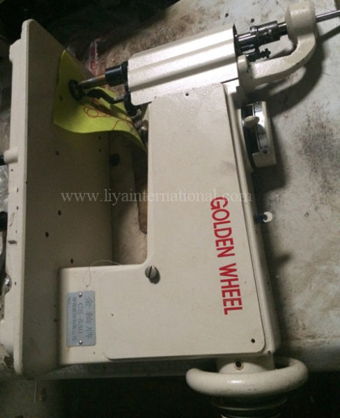 handle operated chain stitch embroidery machine golden wheel cs 530