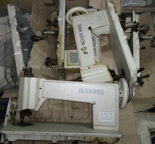 handle operated chain stitch embroidery machine golden wheel cs530-2