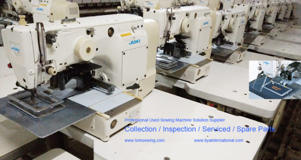 JUKI AMS 210D used programmable pattern sewing machine