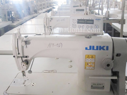 Juki ddl-8700-7 auto trimmer sewing machine