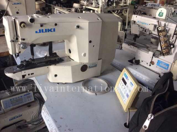 used juki ams 210d programmable sewing machine