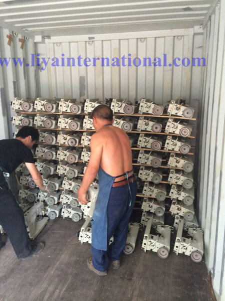 Loading sewing machines (62)
