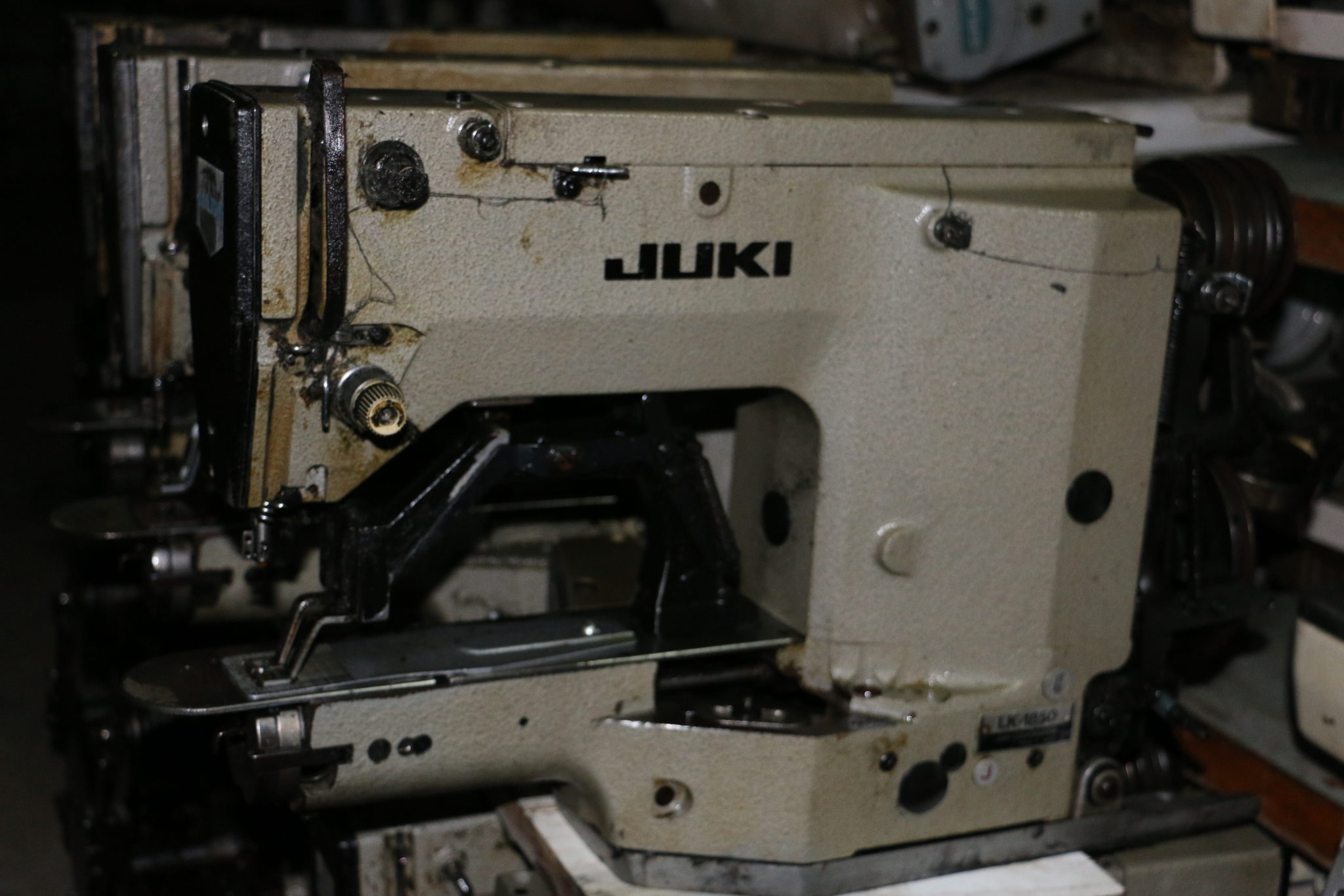 1850 sewing machine