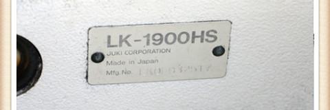 JUKI LK-1900HS
