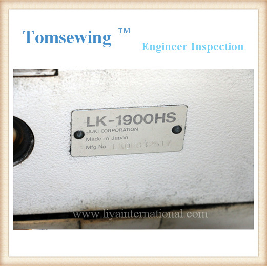 Bar Tacking Sewing Machine JUKI LK-1900HS HA