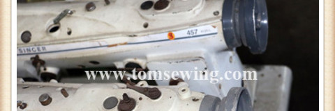 Used Upholstery Sewing Machines Singer 457G1 Zigzag