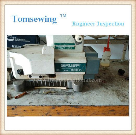 Coverstitch Sewing Machines Siruba C007H