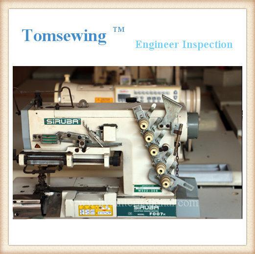 Coverstitch Siruba F007H Flatbed Interlock Sewing Machine