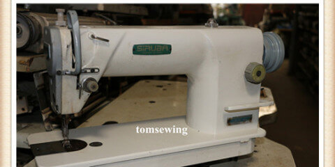 Siruba L818F-M used sewing machine