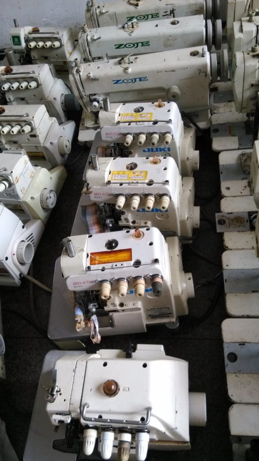 Juki Mo 6714s Overlock Sewing Machine Four Threads Japan