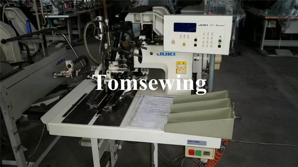 used juki apw 195n juki apw pocket welt machines tomsewing rh tomsewing com Needle for Juki 5410 Juki DDL 555