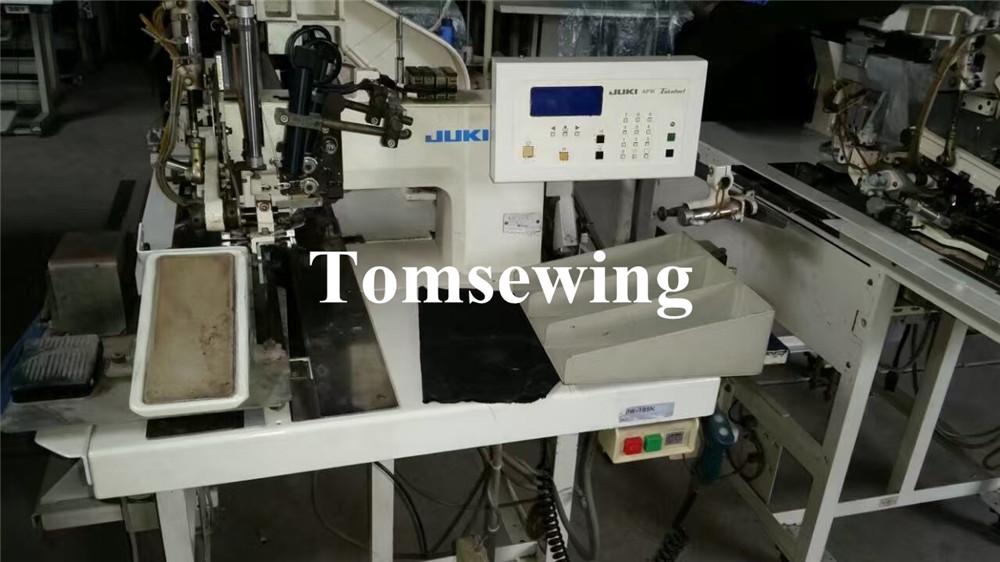 used juki apw 195n juki apw pocket welt machines tomsewing rh tomsewing com Juki Serger Manual Juki Sewing Machine Timing Set