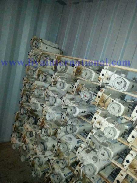 Used sewing machines for sale online loading container