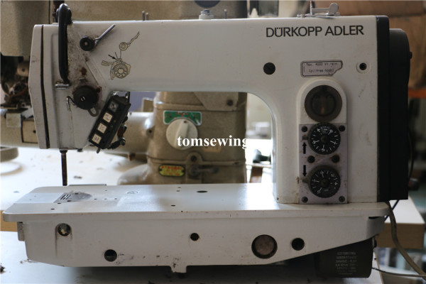 DUERKOPP ADLER DA 271-140342 Single Needle Lock stitch Machine - Drop Feed