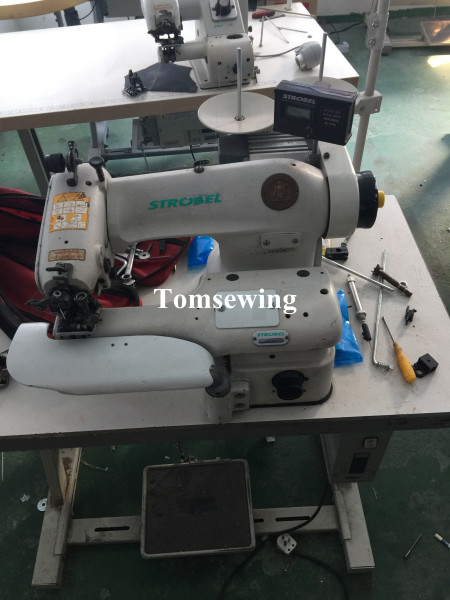 stroble sewing machine used