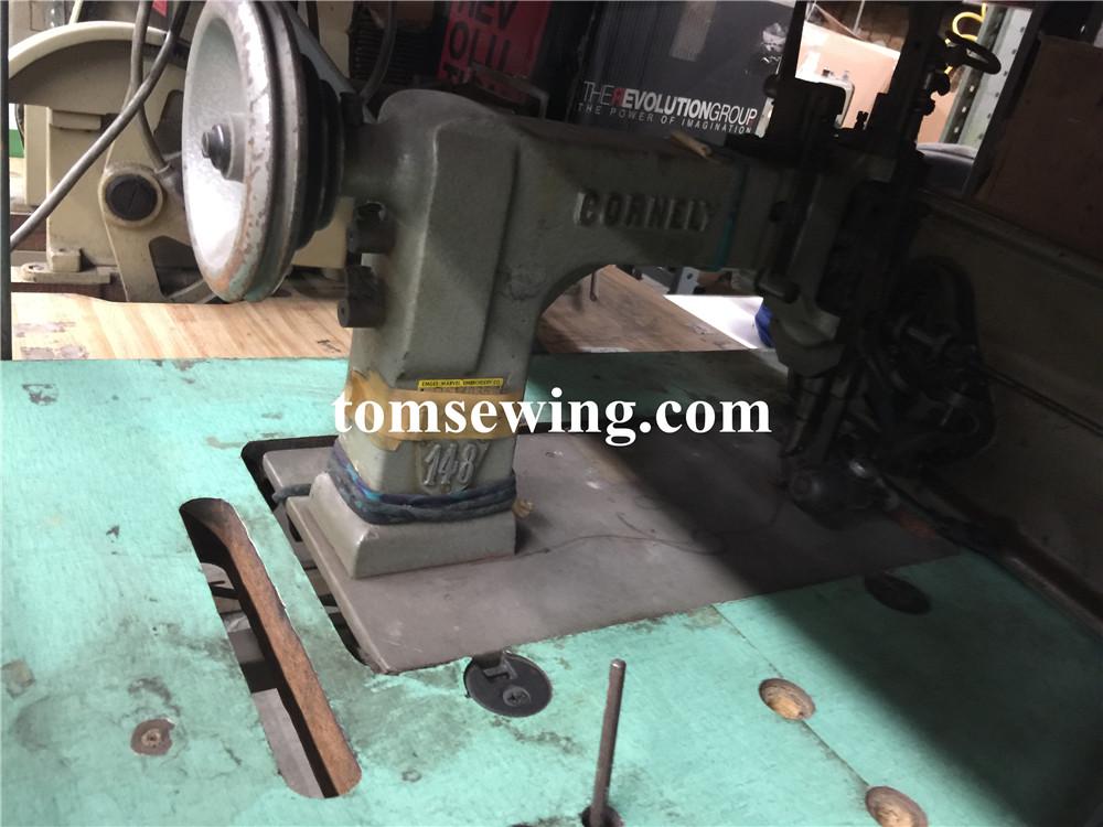 cornely chainstitch machine