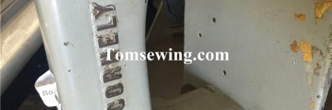 cornely chainstitch embroidery machine