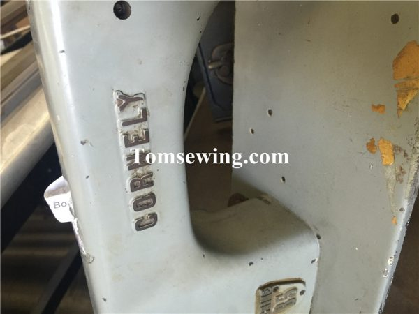 cornely chainstitch embroidery machine