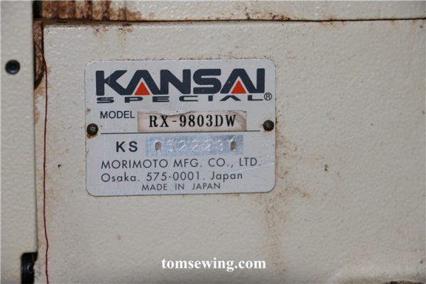 kansai special rx 9803