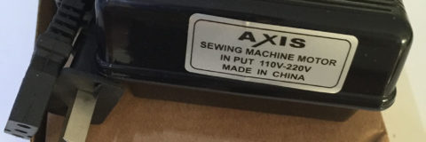 sewing machine foot controller