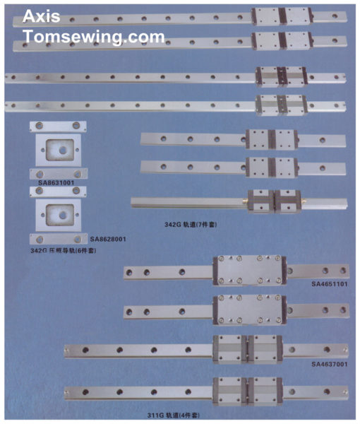 Programmable Electronic Pattern Sewing Machine Parts X-Y Components
