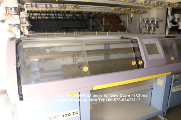 stoll used flat knitting machines