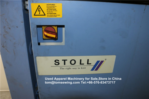 used stoll knitting machines for sale