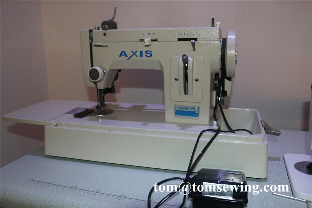 canvas sewing machine