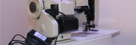 sewing machine for leather
