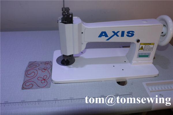 freehand machine embroidery
