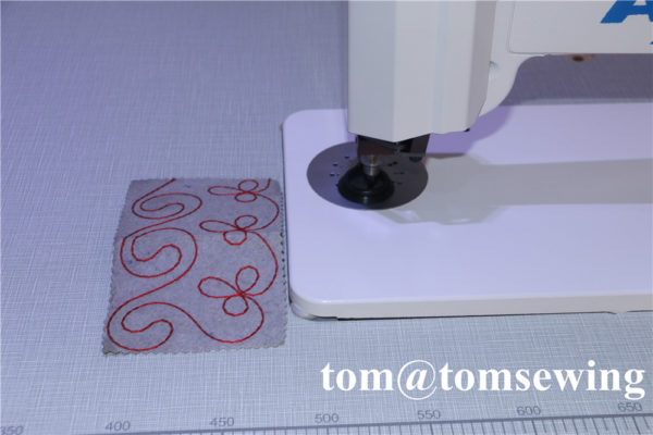 free hand sewing machine embroidery