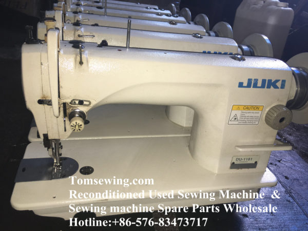 JUKI DU 1181 walking foot top buttom feed sewing machine (1)