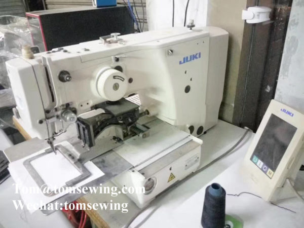 used programmable pattern sewing machine