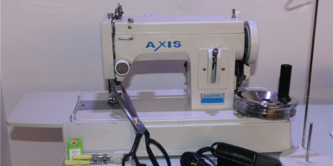 canvas sewing machine