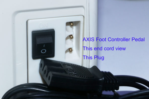 Singer Foot Controller and Power Cord
