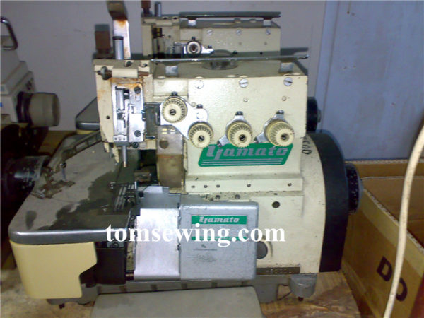 Yamato Overlock Sewing Machine Used Japan Excellent