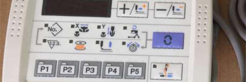 Juki Control Panel
