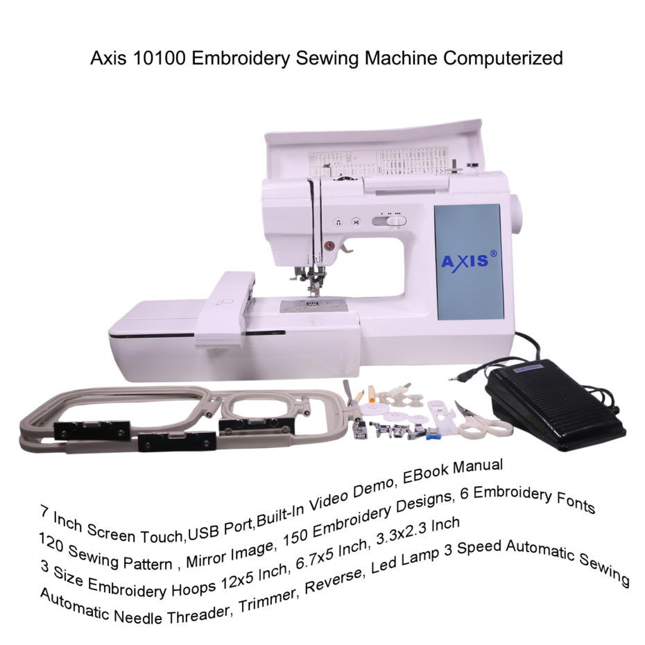 automatic embroidery sewing machine