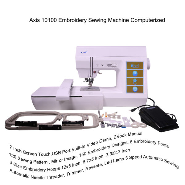 home sewing machine embroidery