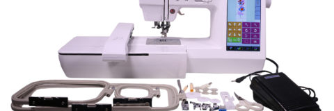 digital embroidery sewing machine