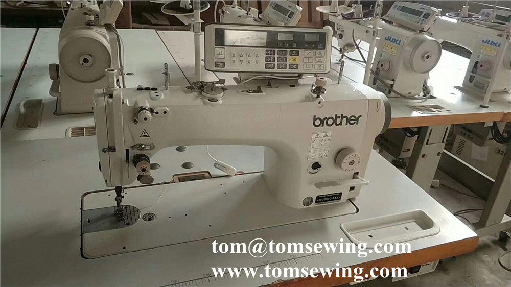 Reconditioned Industrial Sewing Machine Juki Brother Japan Interesting Reconditioned Sewing Machines
