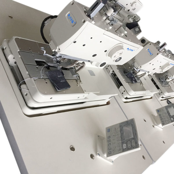 electronic eyelet buttonhole machine