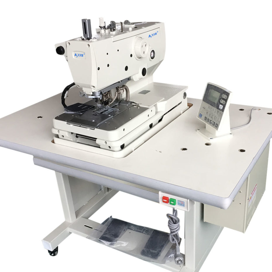 Axis Rh 9820 Electronic Eyelet Button Hole Sewing Machine