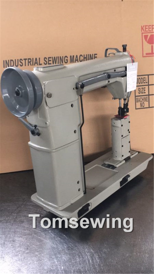 twin needle post bed sewing machine