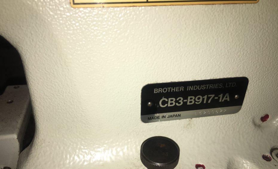 brother cb3-b 917